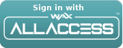 Login with WAX All Access